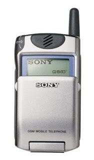 Daftar Beberapa Tipe Handphone Sony Jadul