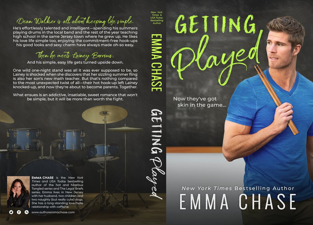 Cover Reveal: Getting Played (Getting Some #2) by Emma Chase | About That Story