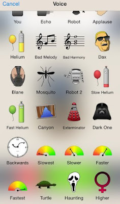 Voice Changer Apps untuk iPhone