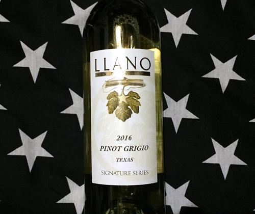 Llano Estacado Pinot Grigio 2016