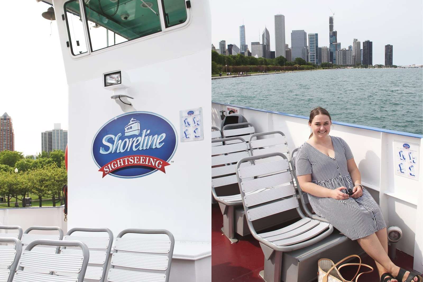 Chicago Shoreline sightseeing tour water taxi navy pier shedd aquarium