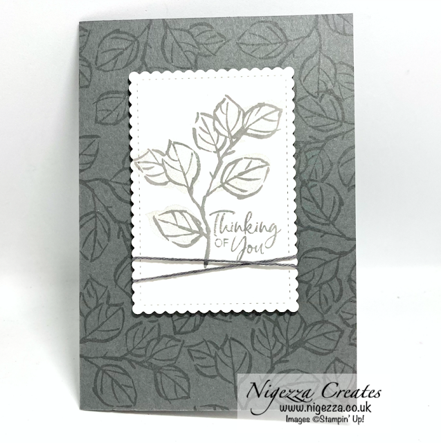 A Touch Of Ink Masculine Card