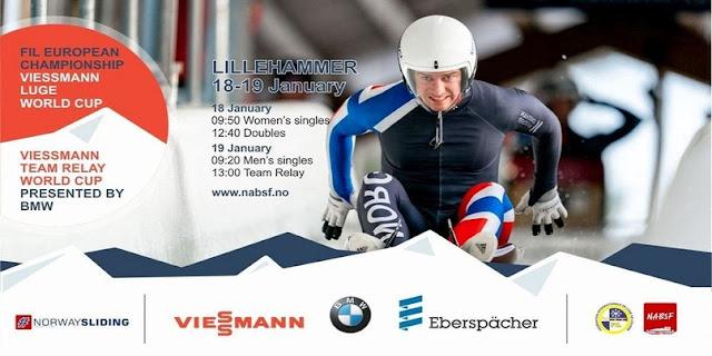 LUGE - Campeonato de Europa 2020 (Lillehammer, Noruega)