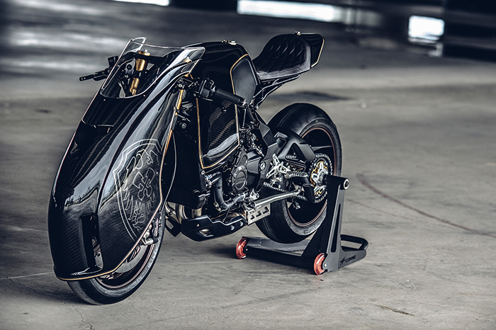 MV Agusta Ballistic Trident racer