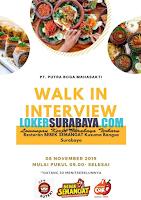 Walk In Interview PT. Putra Boga Mahasakti Surabaya Terbaru Nopember 2019
