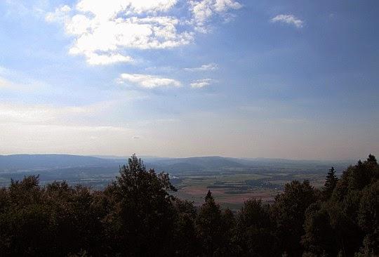 Panorama Ziemi Kłodzkiej z Iglicznej.