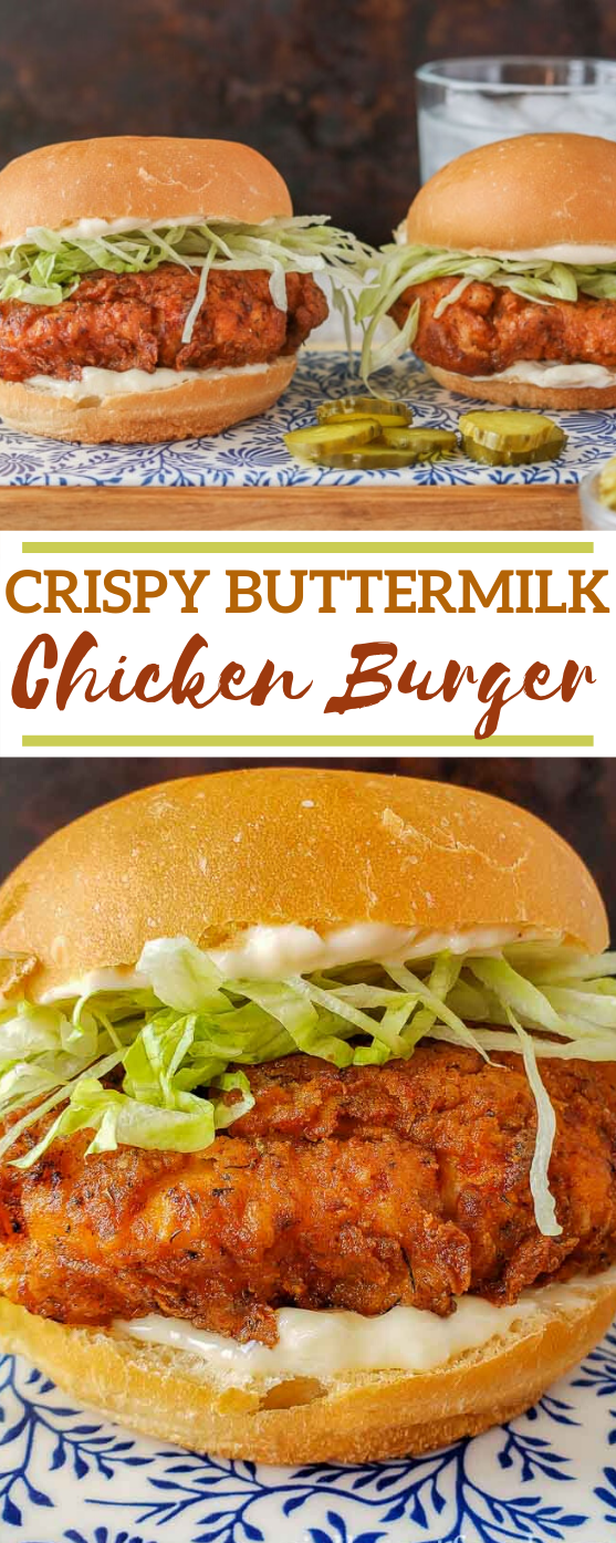 Crispy Chicken Burger #dinner #lunch #chicken #sandwich #recipes