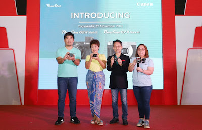 Peluncuran kamera Canon PowerShot G-Series terkini beserta aksesorinya
