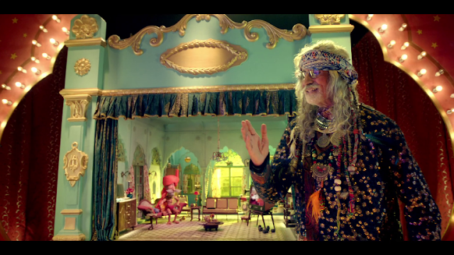 "Amitabh Bachchan seen in 7 new Avatars in Tata Sky's ""Family Jingalala"" campaign"