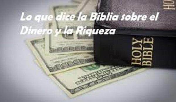 Lo que dice la Biblia sobre el dinero