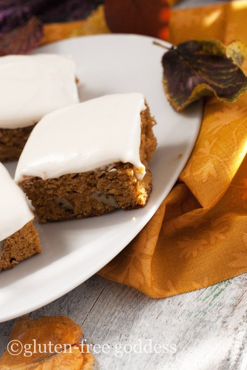 Gluten-Free Pumpkin Bars- so good!
