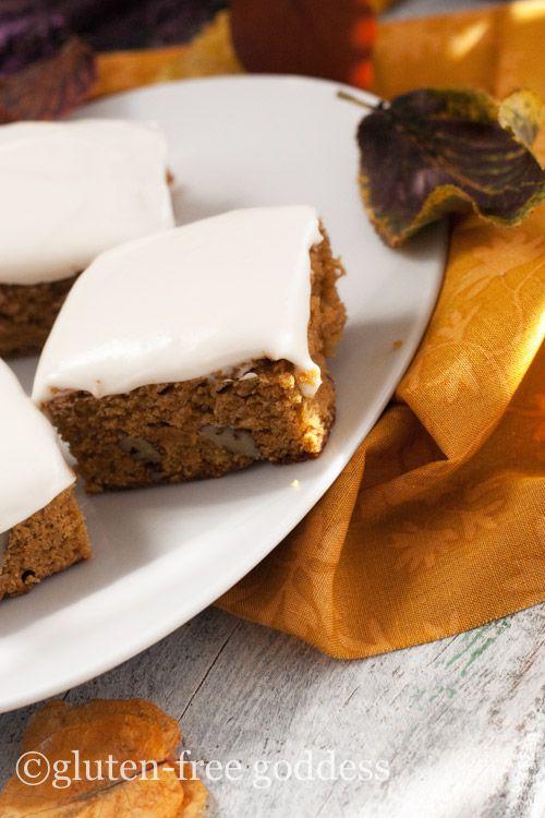 Gluten-Free Pumpkin Bars- so good!