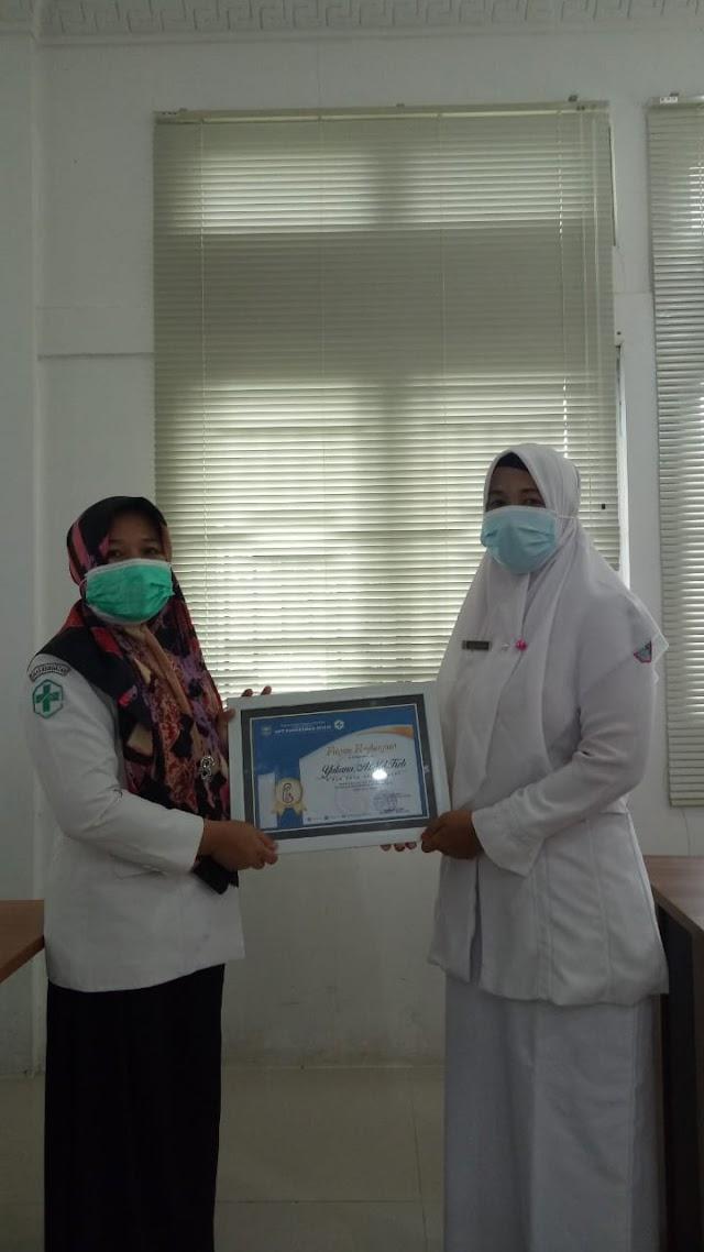Polindes Ophir Barat  Dapat Penghargaan dari Puskesmas Ophir Atas Program Inovasi Kesehatan Serta Prestasi Setiap Perlombaan Posyandu Tingkat Kabupaten Hingga Provinsi || dutametro