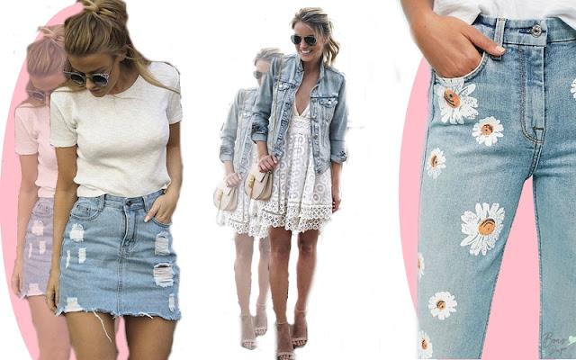 Jeans, o tecido queridinho da moda