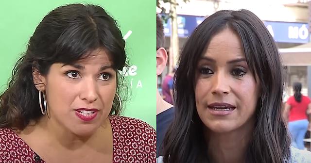 Contundente respuesta de Teresa Rodríguez a Begoña Villacís por su defensa del rey emérito