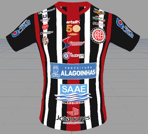Atlético Alagoinhas - ArtSilk - 2020