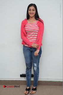 Telugu Actress Mouryani Latest Pos in Blue Denim Jeans  0224.JPG