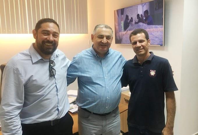 Representante do Deputado Nininho em Rosário Oeste agradeceu pela emenda para comprar nova ambulância