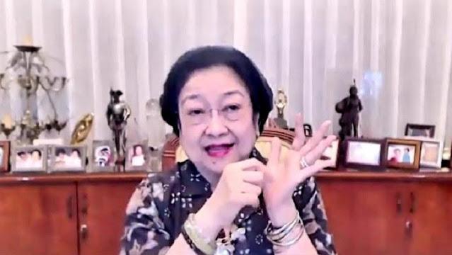 Kelakar Megawati Di-Lockdown 9 Bulan: Saya Bisa Punya Bayi!