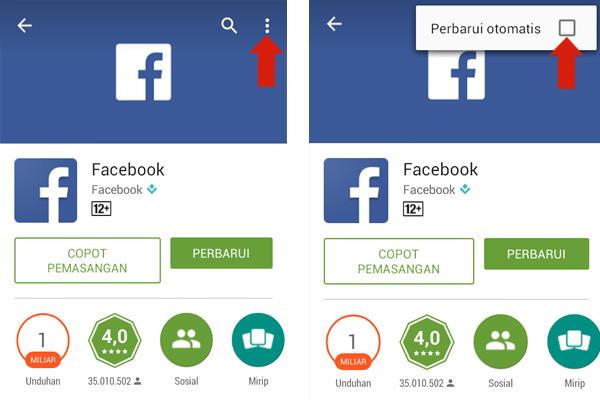 Agar Aplikasi Tidak Update Otomatis di Android