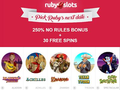 Ruby slots casino coupon codes