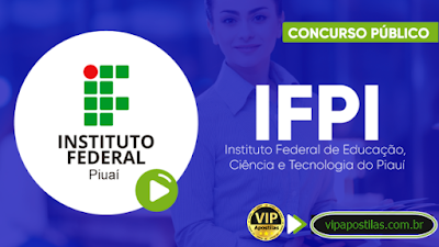 ifpi concurso edital 2019