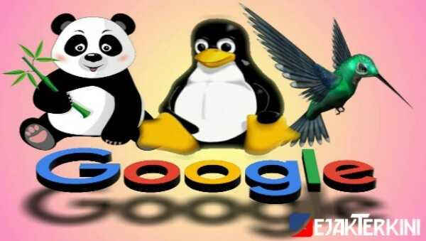 google panda, penguin dan hummingbird