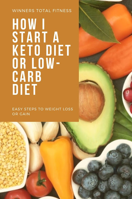 How i start a keto diet or low carb diet