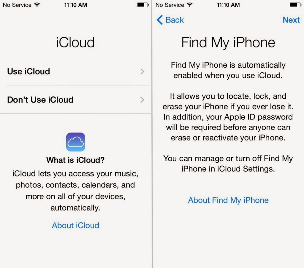 icloud find my iphone off