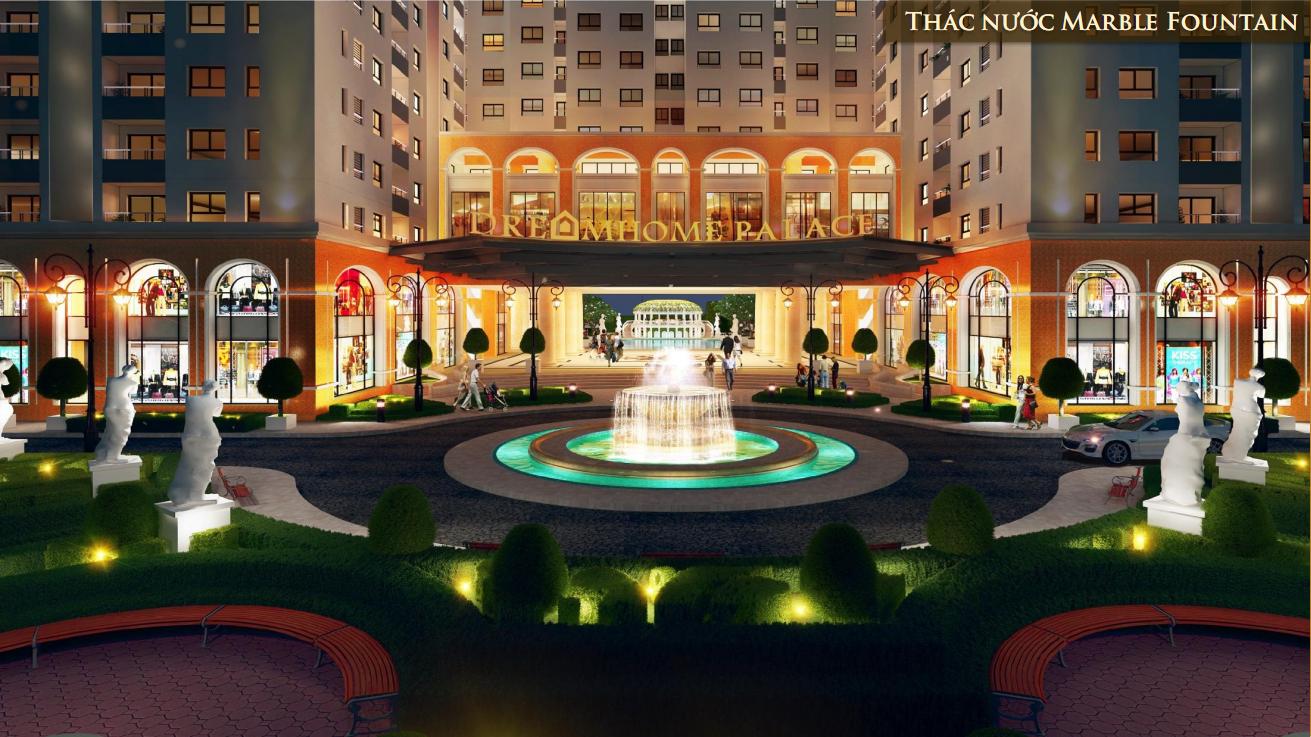 Các căn hộ Dreamhome Palace đều có cấu trúc thiết kế hoàn hảo.