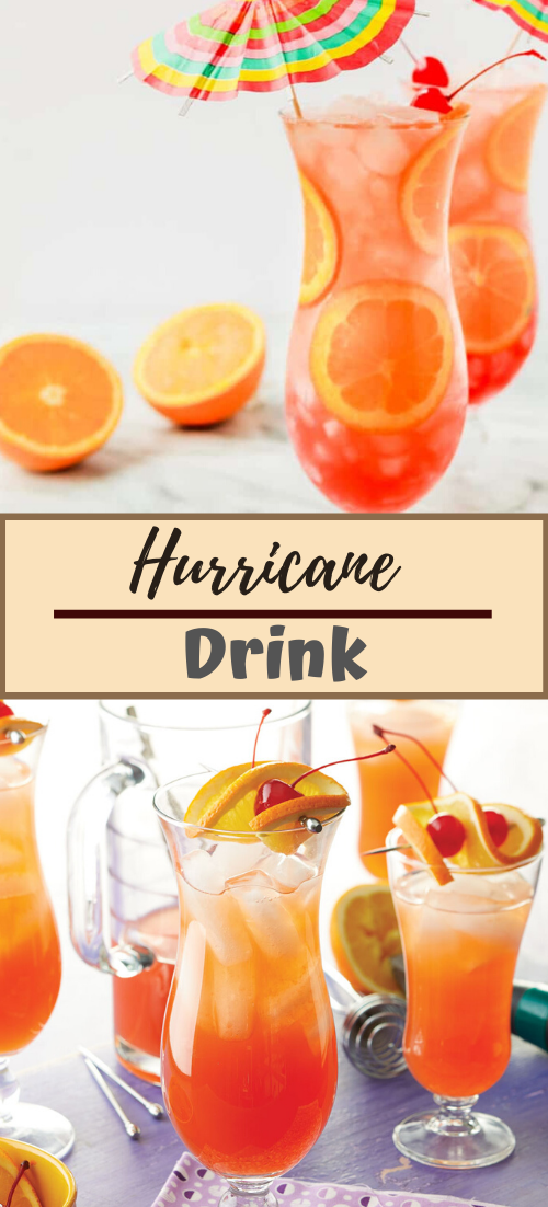 Hurricane Drink #healthydrink #easyrecipe #cocktail #smoothie