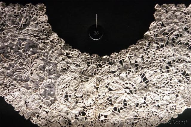 Vintage Handmade Brugge Lace