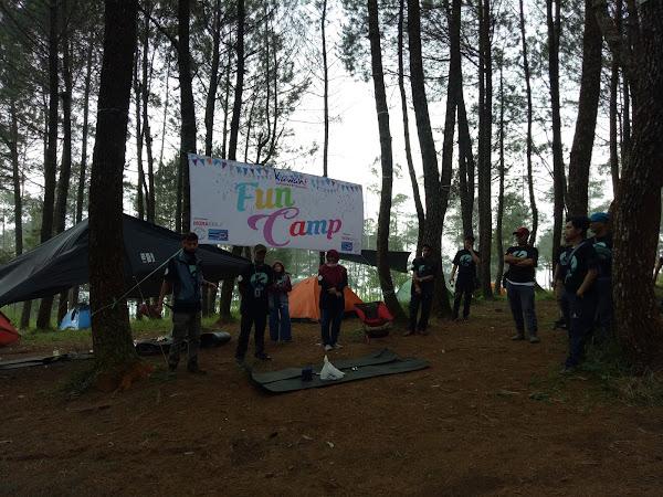 Fun Camping ala Kawani di Wana Wisata Gunung Putri Lembang