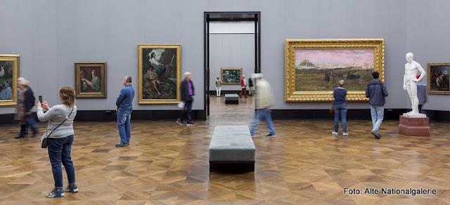 Sala na Alte Nationalgalerie de Berlim