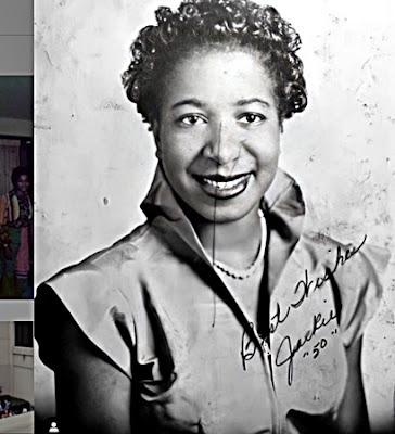 Hattie Mae Scruse, irmã de Katherine Jackson, em 19501950