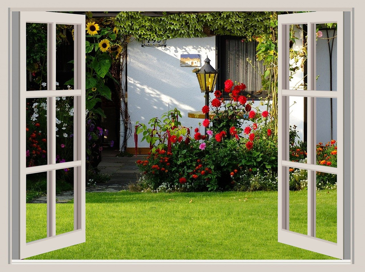 Create The Look of Charming Cottage Gardens in Your Backyard