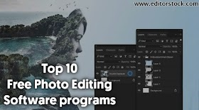 Top 10 best free photo editing Software programs in 2021 for PC/Laptop/Computer