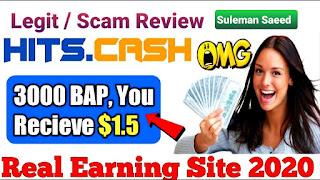 Is  Hits.Cash legit or scam?