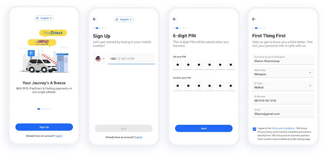 Cara Daftar Dan Aktifkan Touch 'n Go eWallet