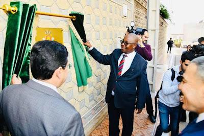 بالصور...جمهورية بوروندي تفتح قنصلية عامة لها بالعيون