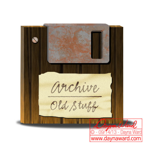 Icon - Old Disk