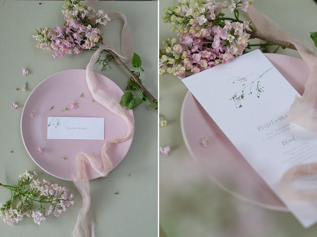 Delikatna papeteria z motywem kwiatowym od Love Prints.