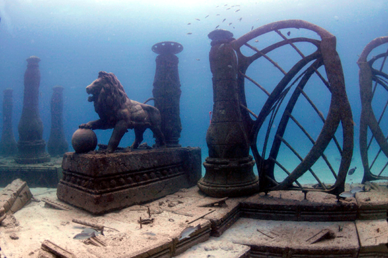 Neptune Memorial Reef in Miami, Florida