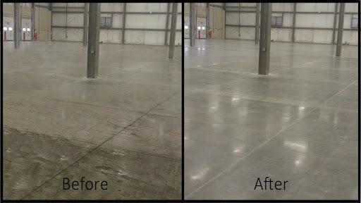 Hướng dẫn làm sạch vết lốp xe trên sàn nhà xưởng, nhà kho