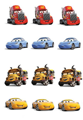 cars 3 party printables
