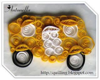 Free Quilled School Bus Pattern