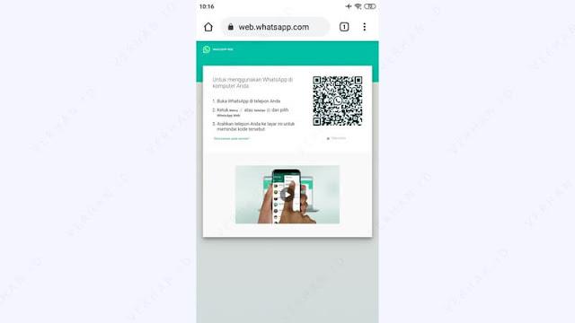 web.whatsapp.com di hp