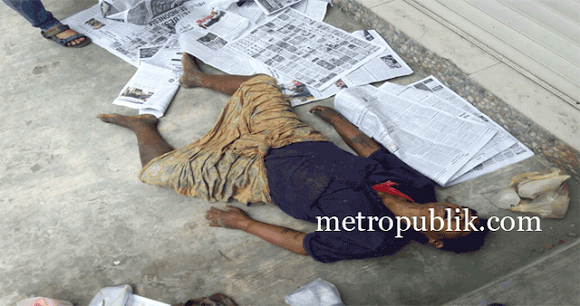 Mayat Mr.x  Kejutkan Warga Jalan Sutomo Medan