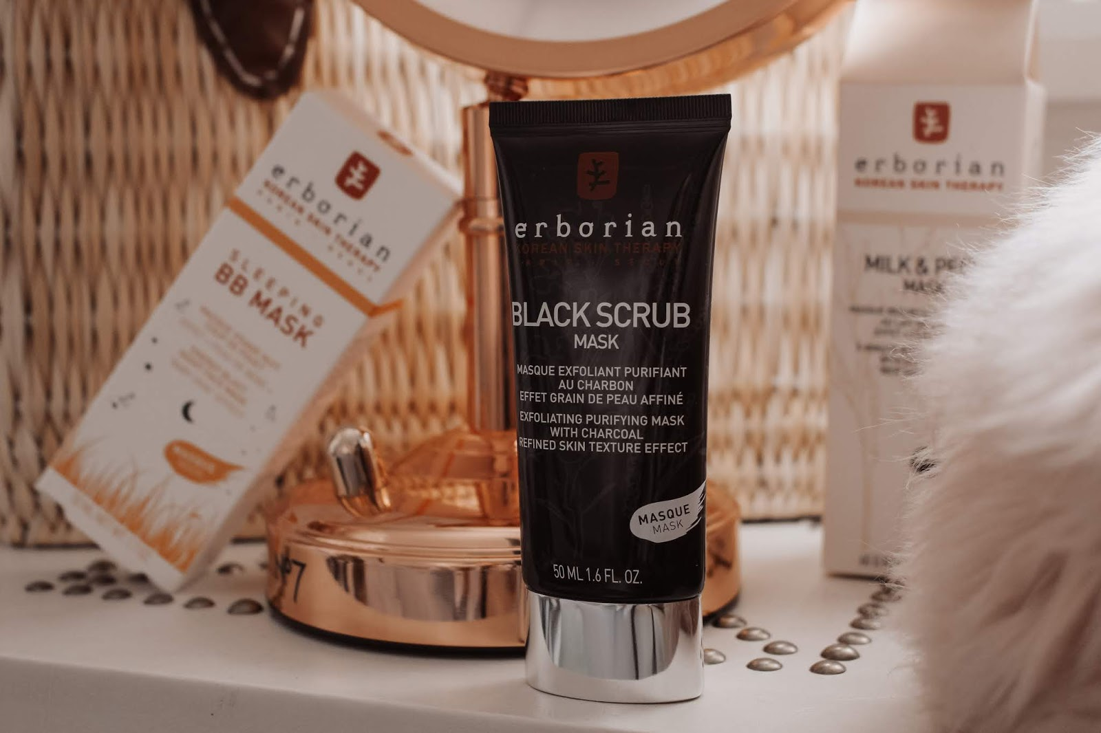 Erborian Black Scrub Mask beauty blogger review