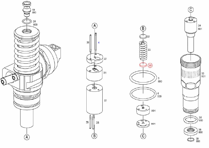 INJECTION-AUTOMOTIVE: 0414720364 BOSCH-UNIT INJECTOR (UIS)